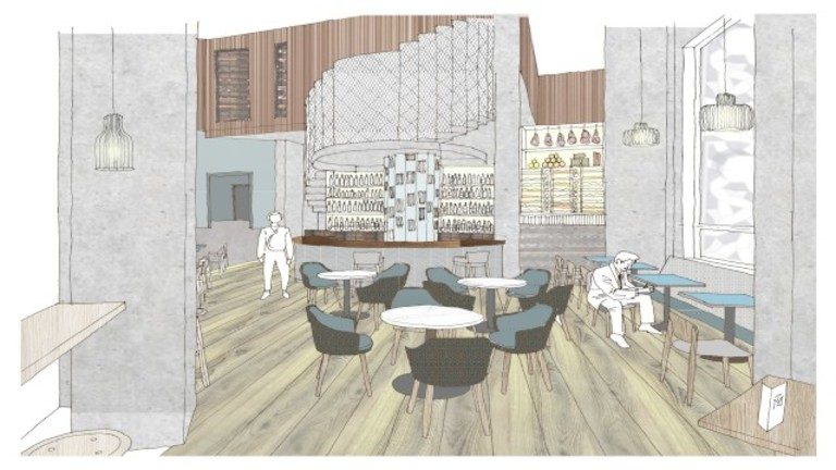 Self have been appointed as designer of a market table new store in London