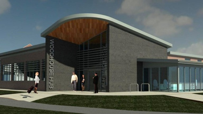 Self have designed a state-of-the-art community hub in Woodhouse